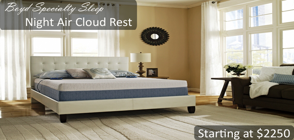 Boyd Specialty Sleep Night Air CloudRest